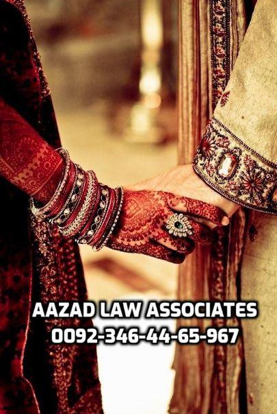 Shia court marriage in Lahore Pakistan - Aazad Law Associates